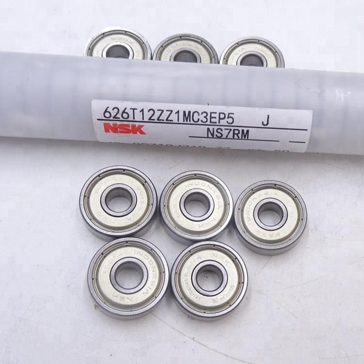 NSK Miniature Ball Bearing 626ZZ