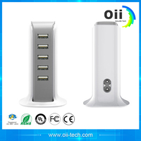 Factory's latest wholesale high speed USB 5 port for Apple 7 rechargeable USB charger