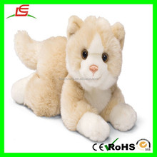 25cm novelty Lovely White Cat Toy Plush Sitting Cat Doll Gift