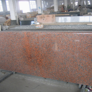 Polished G562 Granite Precut Red kitchen Countertops