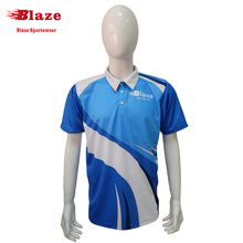 100 polyester dye sublimation fashion colorful polo shirt design