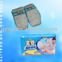 Pakistan hot sell PE cheap baby nappies in bulk, baby products(JHC050)