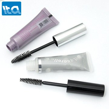 popular collapsible mascara with brush glossy squeeze hose