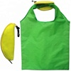Cheap fruit shape folding reusable bags pitaya shape reusable shopping bags banana shopping foldable bag