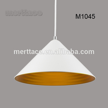 Industrial vintage antique white hanging pendant lamp for hotel project