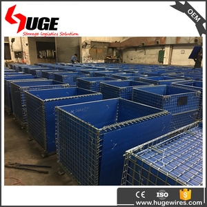Factory Direct Sale Folding Wire Cages Iron Wire Cages
