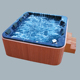 Portable whirlpool spa acrylic surfing hot tubs outdoor