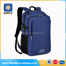 New arrival deep blue fashion durable classic school bags for teenagers boys