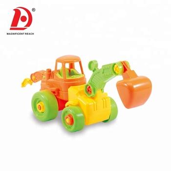 Huada Hot Sale High Quality Detachable Assembly Take Apart Toy Car