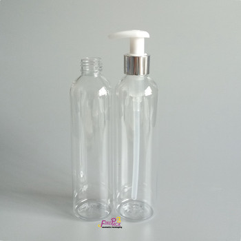 9f6263bb59ec 245ml Pet Clear Plastic Sloping Shoulder Round Bottle With Pump - Buy Pet  Clear Plastic Bottle 245ml With Pump Product on Alibaba.com
