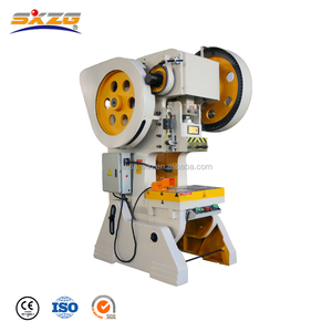 10 16 20 25 40 50 63 100 Ton Small Mini Mechanical Used Plate Sheet Hole Making Press Machine Power Press For Sale