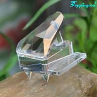 Customized Crystal Piano Office Decoration For Birthday Gift