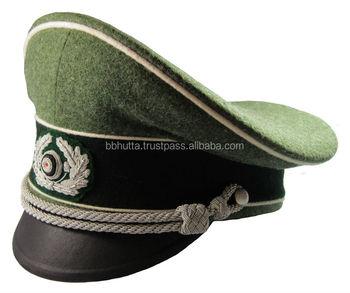63abaf5d461 Ww2 German Army Officer Visor Hat Schirmmuetze Infanterie (infantry ...