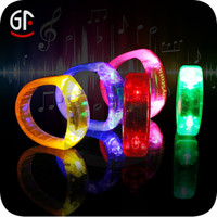 2016 Best selling Christmas Gifts Brand Promo and Party Event Glow Wristband