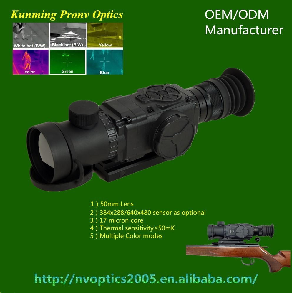 ulis thermal camera ZK1-50-3/6 thermal scope military