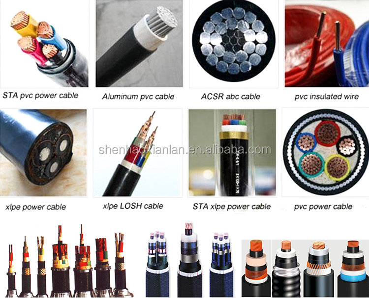 Exporting To Saudi Aluminum Conductor Steel Reinforced Cables Power 0.6-1KV XLPE/PVC Insulated SWA Steel Wire Armored Cable