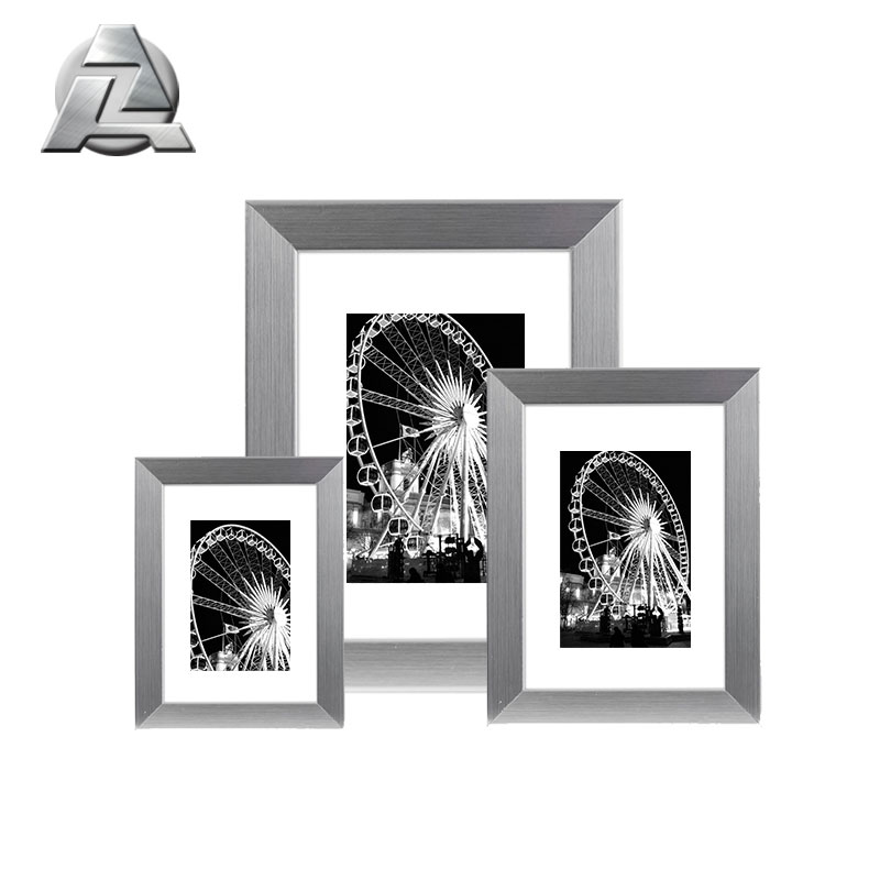 Silver Modern Plated Aluminum 8x10 11x14 15x23 Picture Frame With ...