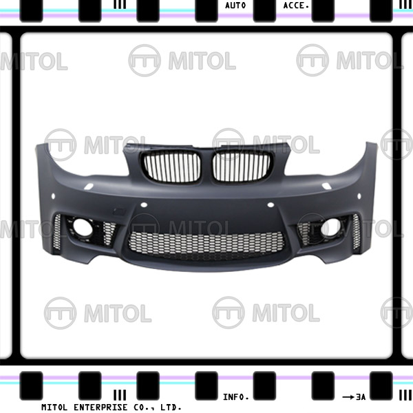 Front Bumper for BMW E82 W/PDC W/WAS (1M Look) Body Kits