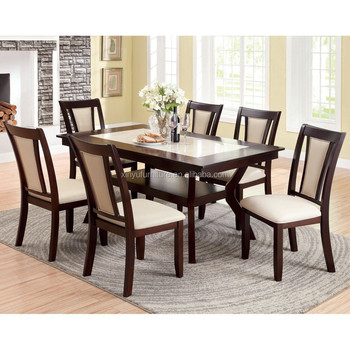 modern home furniture solid ash wood dining table and