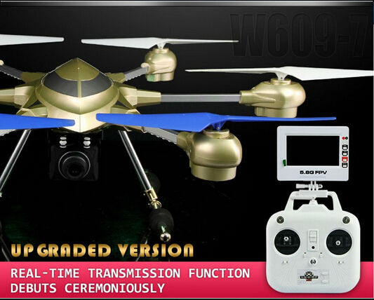 Professional RC Drone HJ816 can With HD Camera 5 8GHz FPV 2 4G 4 5CH 6