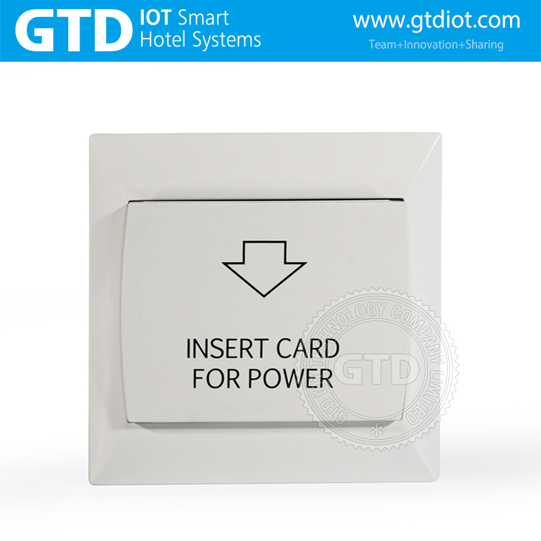 Hotel Plastic Panel Mifare Card Key Card Power Switch Insert Card To Gain  Room Power - Buy Hotel Power Switch,Room Status Function,Mifare Card Type