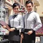 2018 high quality restaurant hotel long sleeve uniform for staff