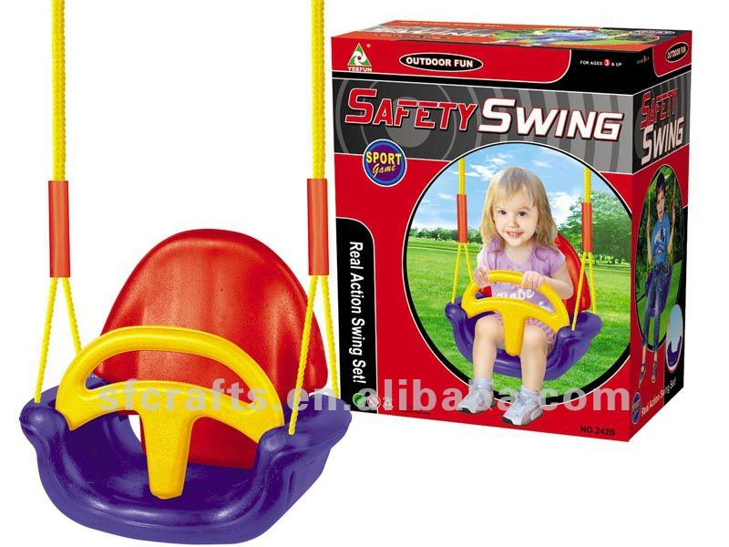 Kunststoff Sicherheit Baby Schaukel - Buy Swing,Baby Innen Schwingen ...