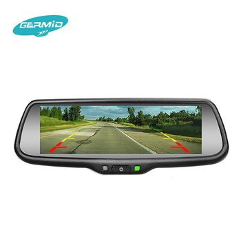 Mirror Link Rear View Mirror Monitor With Navigation App Synchronization  With Ios/android Device And Backup Camera Display - Buy Navigationrearview