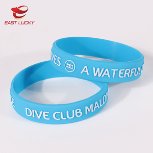 3d printing wristband / silicone rubber bracelet / embossed elastic band