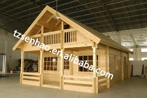 China suppliers Garden Prefabricated Wooden House/wooden Log Cabin sale