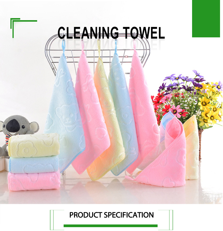 Microfiber cleaning cloth varnished glass cloth wash towel cleaning