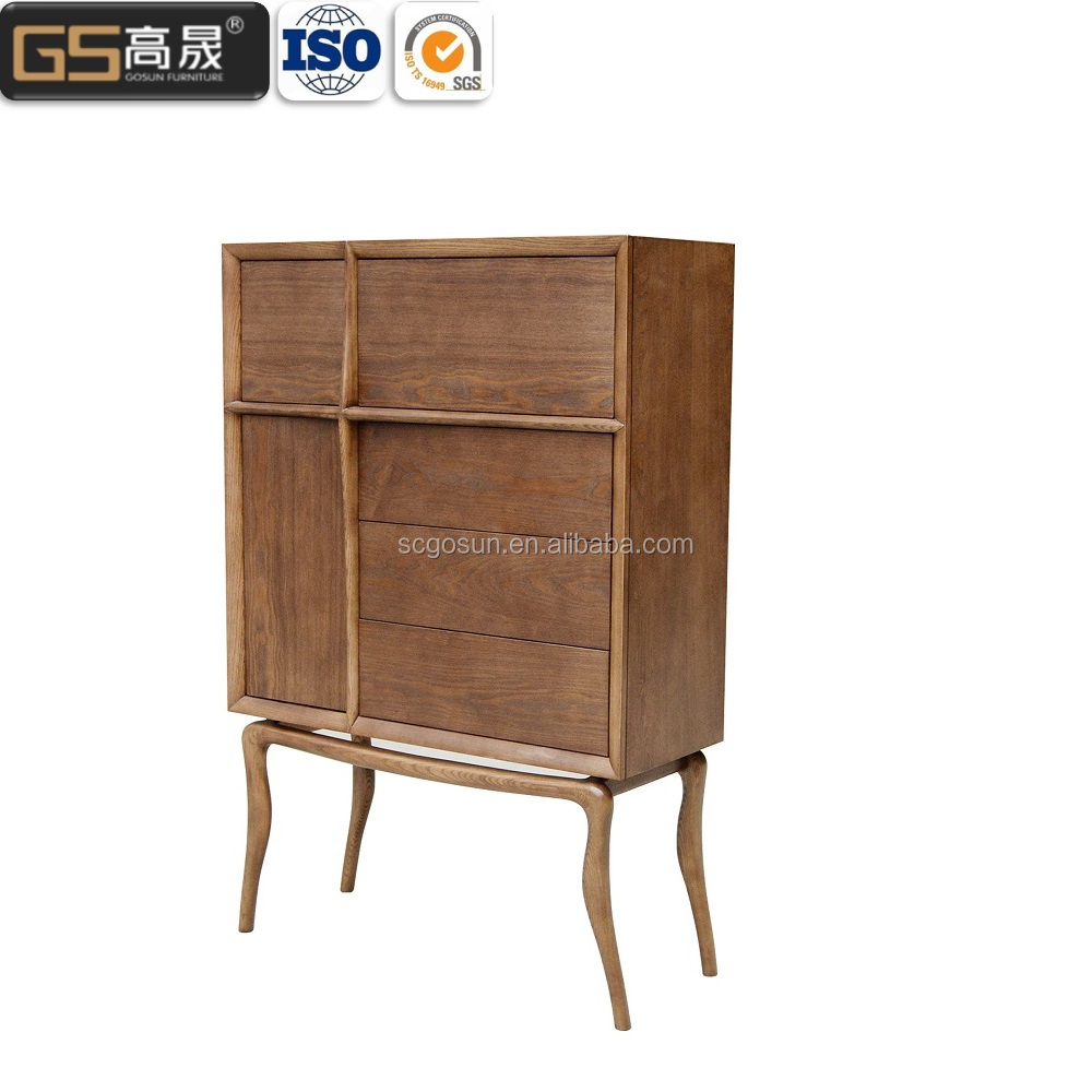 Solid wood antique dining sideboard