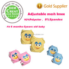 2017 starting adjustable mesh learn to climb anti-fall knee for1-5 year old child
