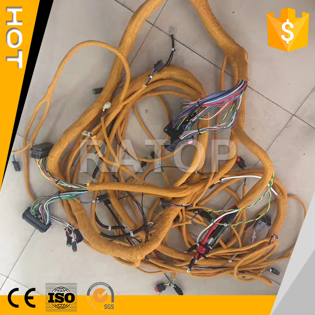E330D E326D E336D excavator parts engine wiring harness 381-2499 230-6279 235-8202 323-9140