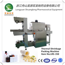 pharmaceutical machinery thermal shrinkage packing machine LRS-350