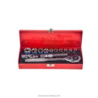13pcs socket set ratchet wrench (1/2