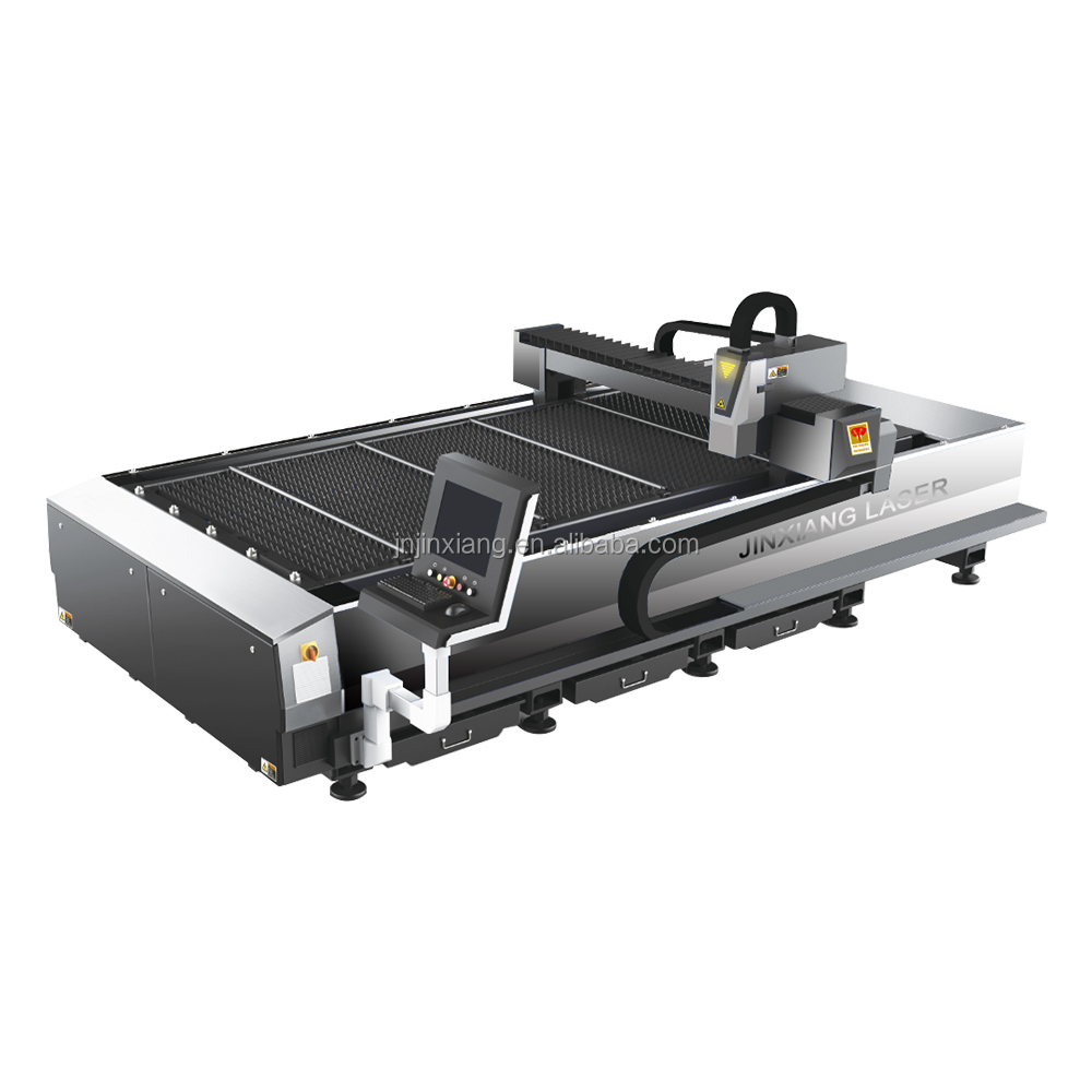 low cost 1500W aluminum/stainless safety case laser cutting machine