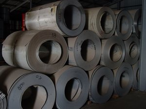 STEEL PIPE & FITTNGS, ZINALUME COILS