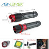 100% Lighting 50% Lighting and Flash AAA or 18650 Battery Power Supply Aluminum Cree XPE LED Torch Flashlight