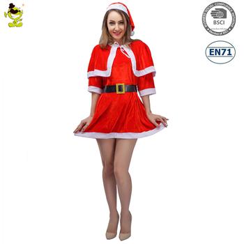 Sexy Rojo De Navidad De Santa Claus Chica Vestido De Traje De Santa Claus Para Adultos Buy Vestido De Navidad De Santa Clausvestido De Las Mujeres