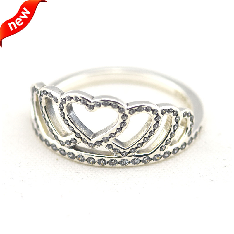 13369f386 ... italy my princess tiara pandora rose clear cz pandora jewell compatible  with european style jewelry 100