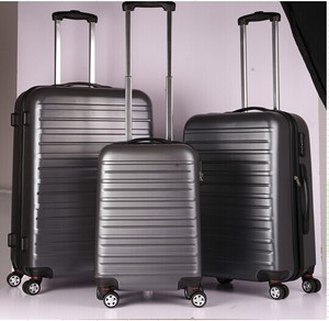 Latest ABS cool travel man suitcase bag for large package in wholesale