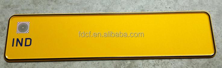 inde licence plaque plaque d 39 immatriculation vierge blanc plaque de voiture plaque d. Black Bedroom Furniture Sets. Home Design Ideas