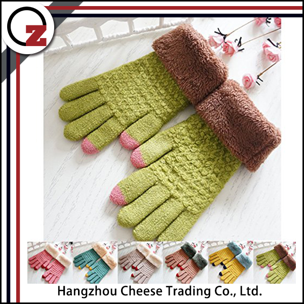 Safety winter touch screen glove with cheap price
