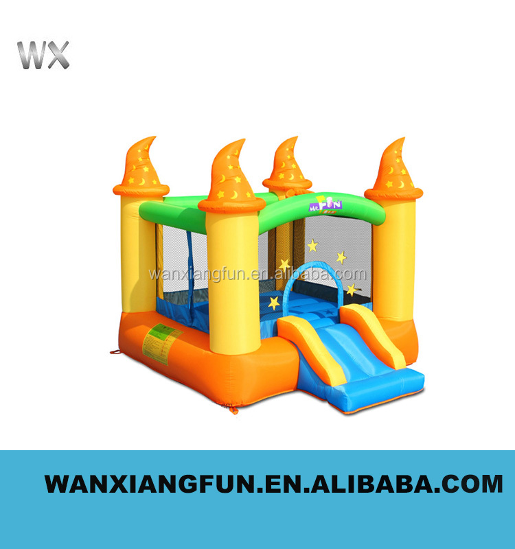 2016 hot sale cheap price phthalate free High quality king size PVC inflatable bounce castle with loe price