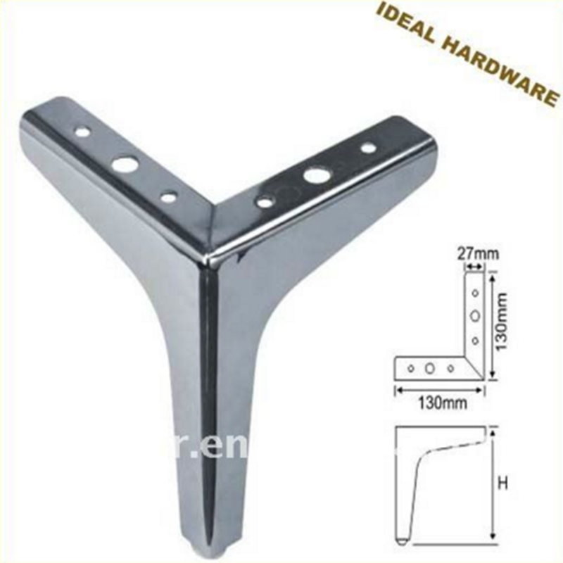 Factory Price Office Stainless Steel Table Leg With Chrome Plating