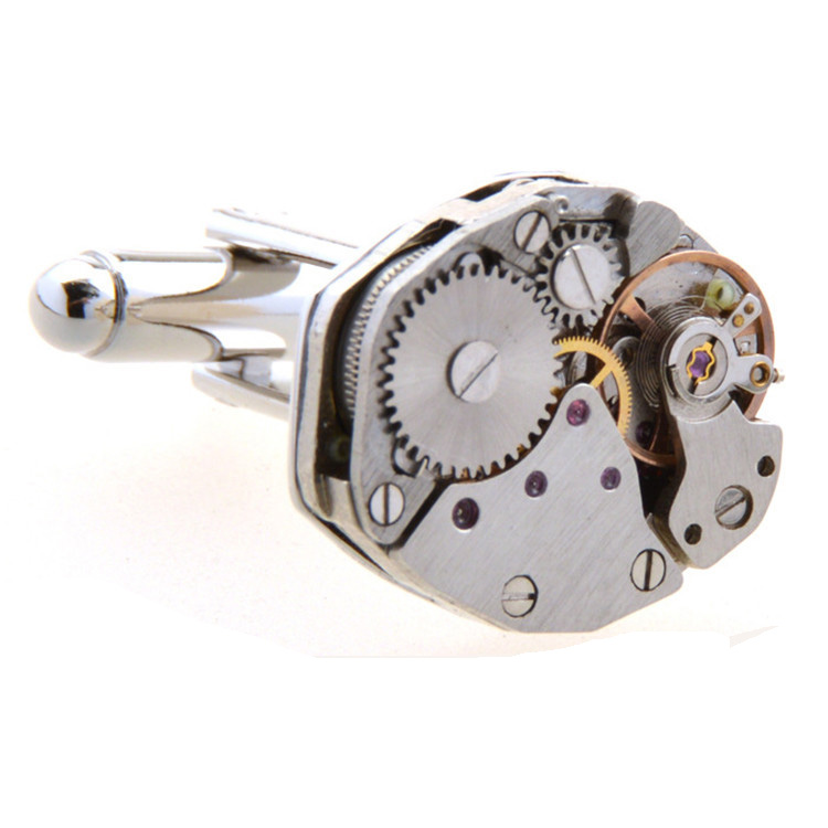 Wholesale High-End Mechanical Movement Cuff Links