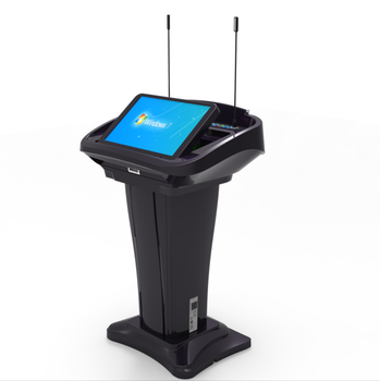 Focus FK500V digital plastic and steel e lectern podium for conference