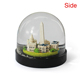 New product building ornamental snowglobe home decoration can be customized resin building snow globe