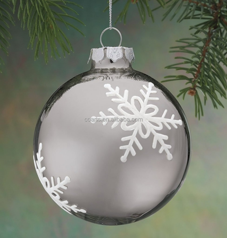 Wholesale Christmas Ornaments Hanging Glass Christmas Ball ...